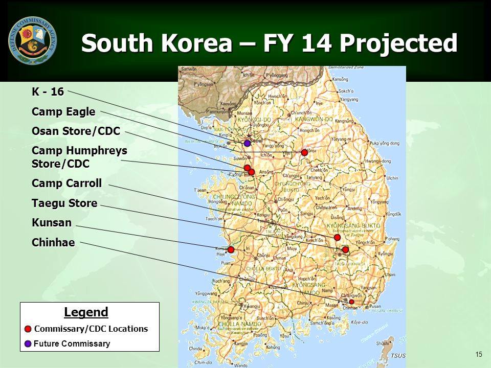 South Korea – FY 14 Projected