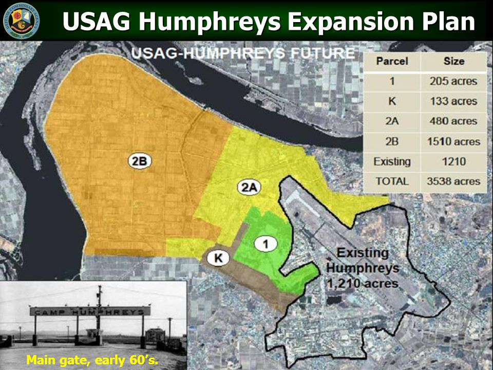 USAG Humphreys Expansion Plan