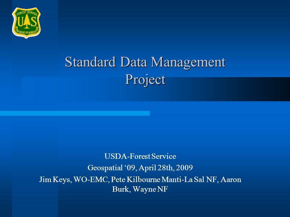 Standard Data Management Project