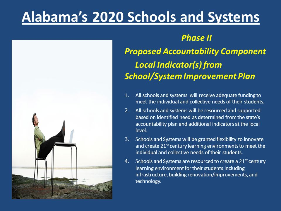 Alabama's 2020 Schools and Systems