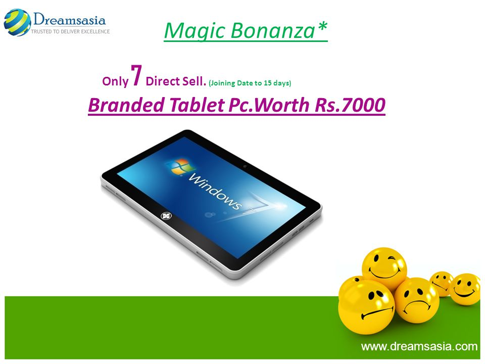 Magic Bonanza* Only 7 Direct Sell. (Joining Date to 15 days)