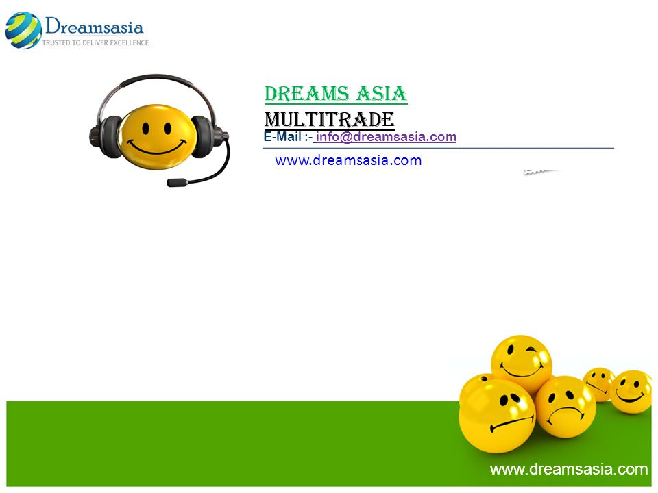 Dreams Asia MULTITRADE