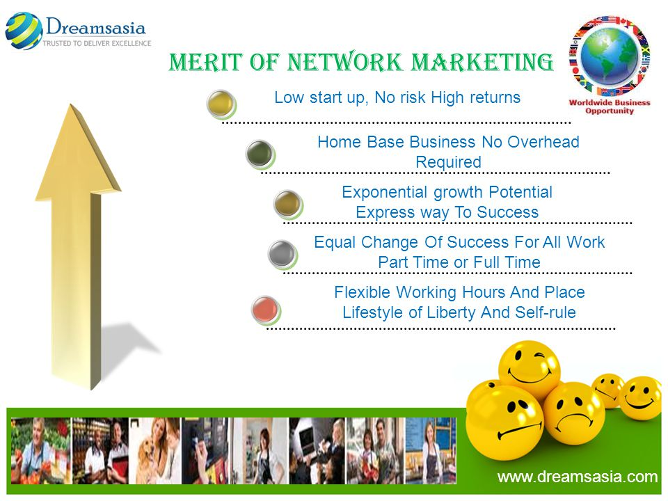 Merit Of Network Marketing