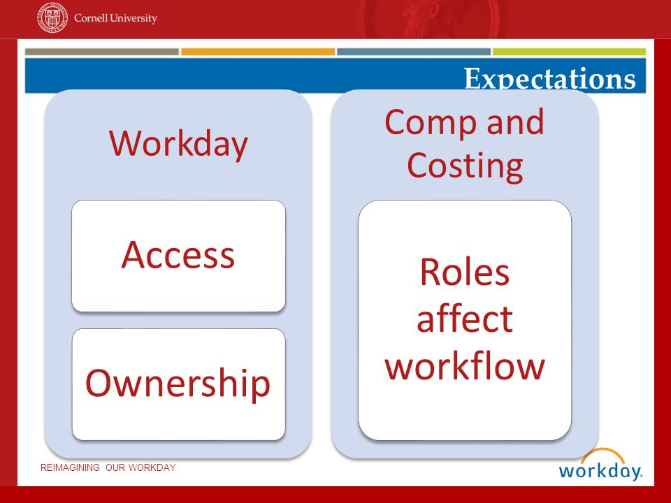 Access Roles affect workflow Ownership Comp and Costing Workday