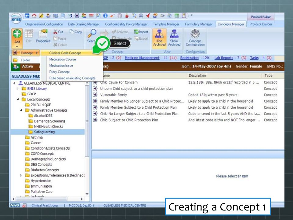 Creating a Concept 1