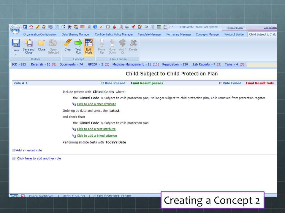 Creating a Concept 2