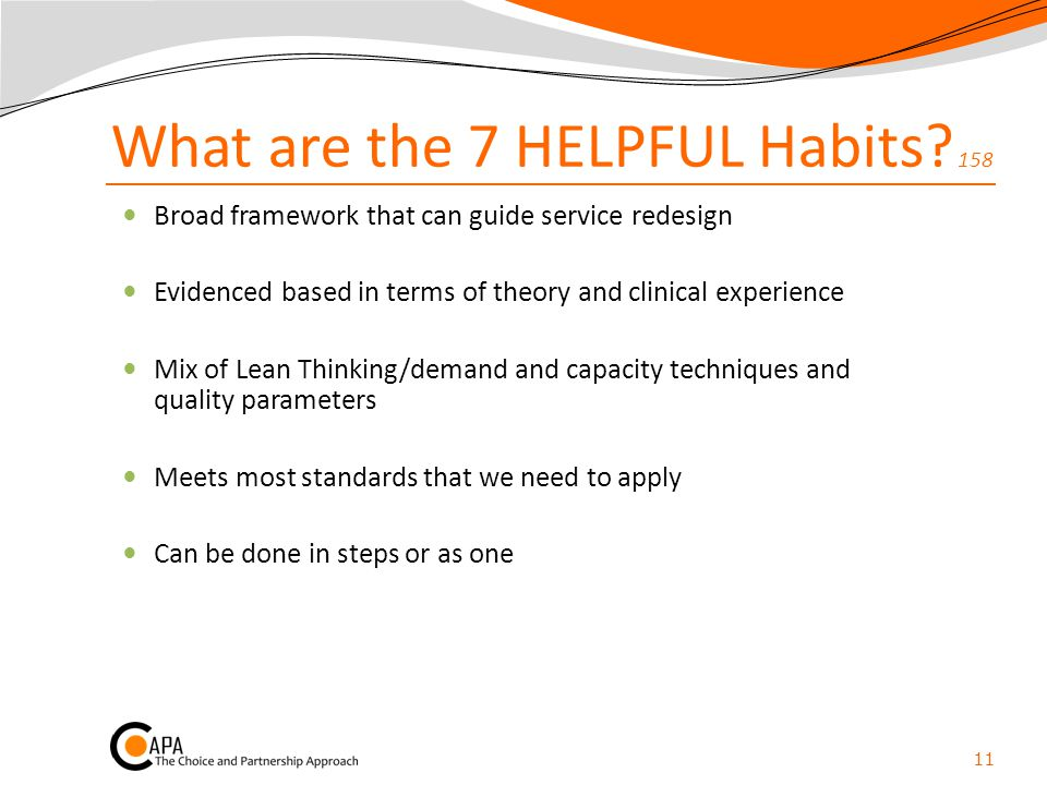 What are the 7 HELPFUL Habits 158
