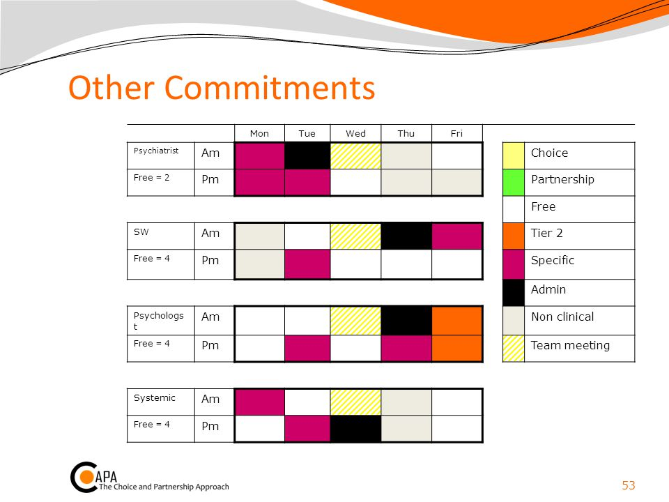 Other Commitments Am Choice Pm Partnership Free Tier 2 Specific Admin