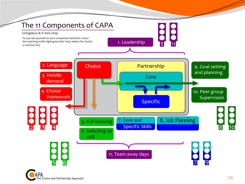 11 Components of CAPA p 32-42