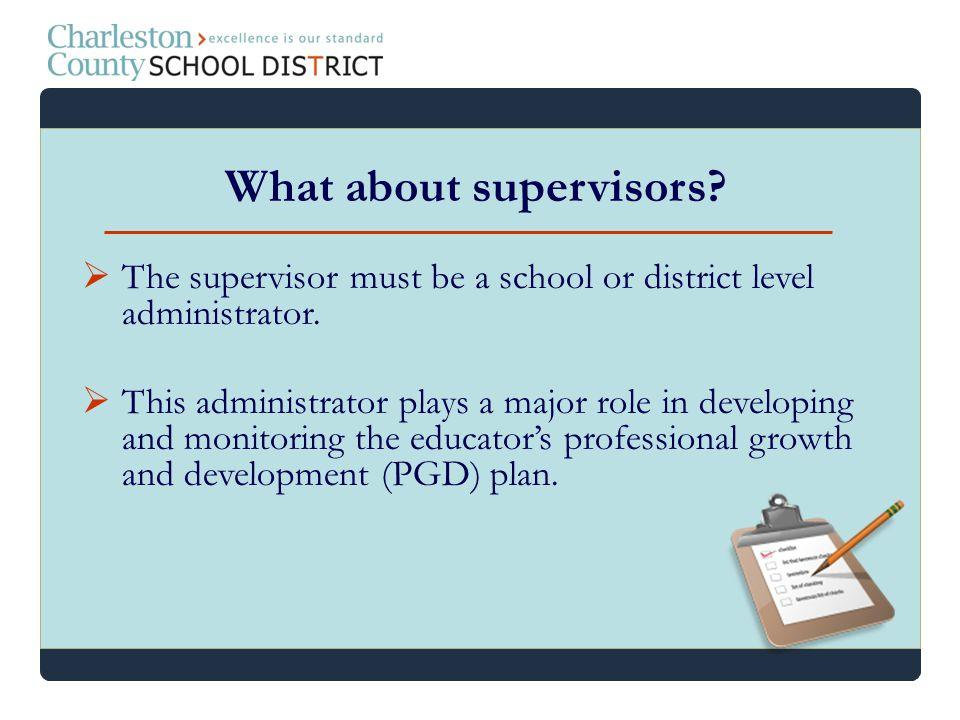 What about supervisors