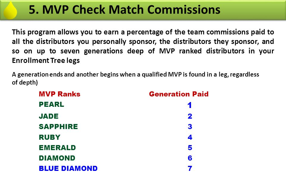 5. MVP Check Match Commissions