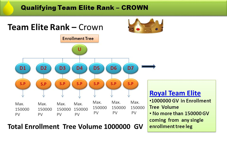 Team Elite Rank – Crown Royal Team Elite