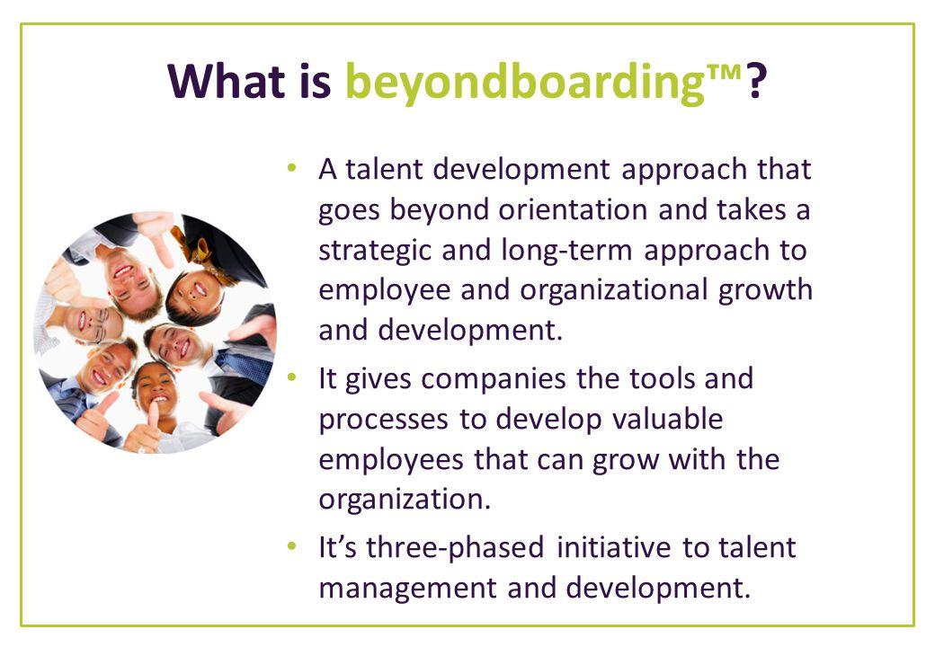 What is beyondboarding™