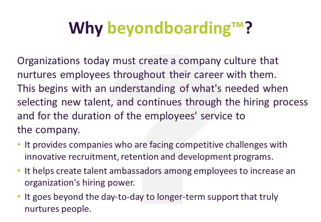 Why beyondboarding™