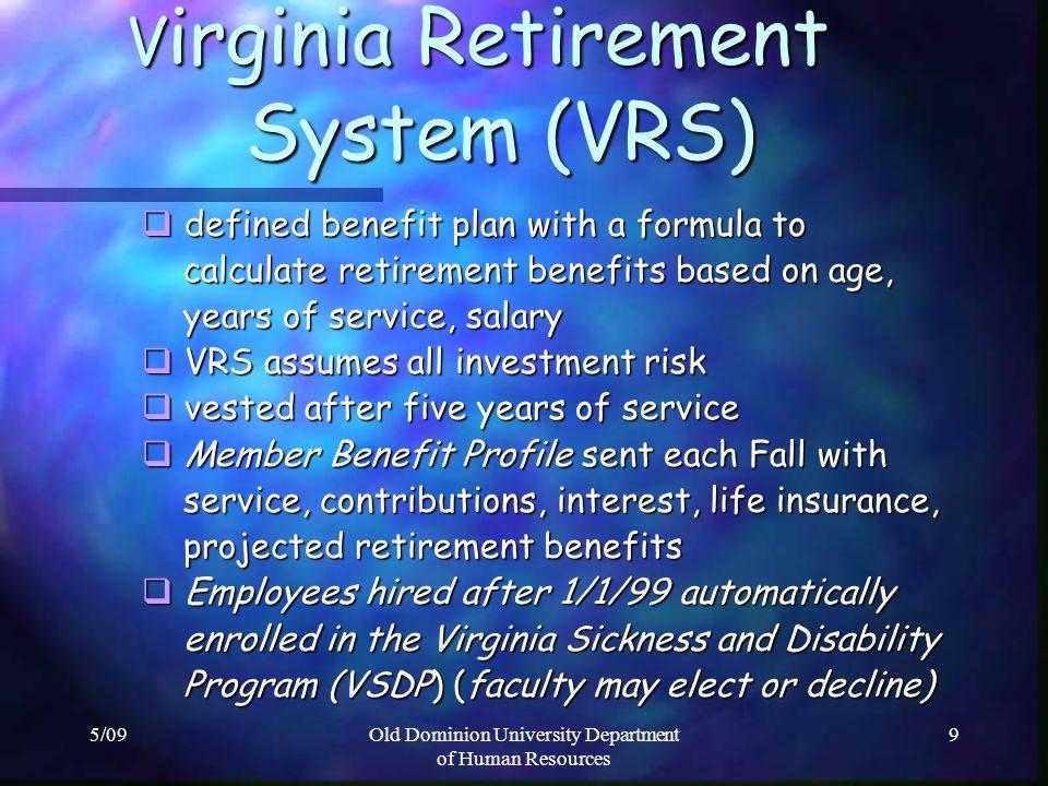 Virginia Retirement System (VRS)