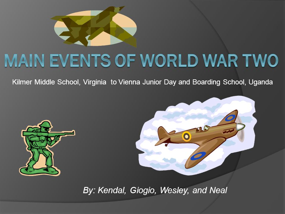 Main Events of World War Two