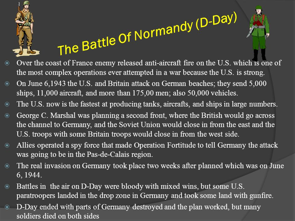 The Battle Of Normandy (D-Day)