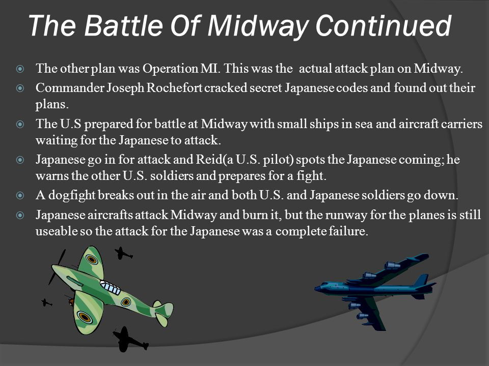 The Battle Of Midway Continued
