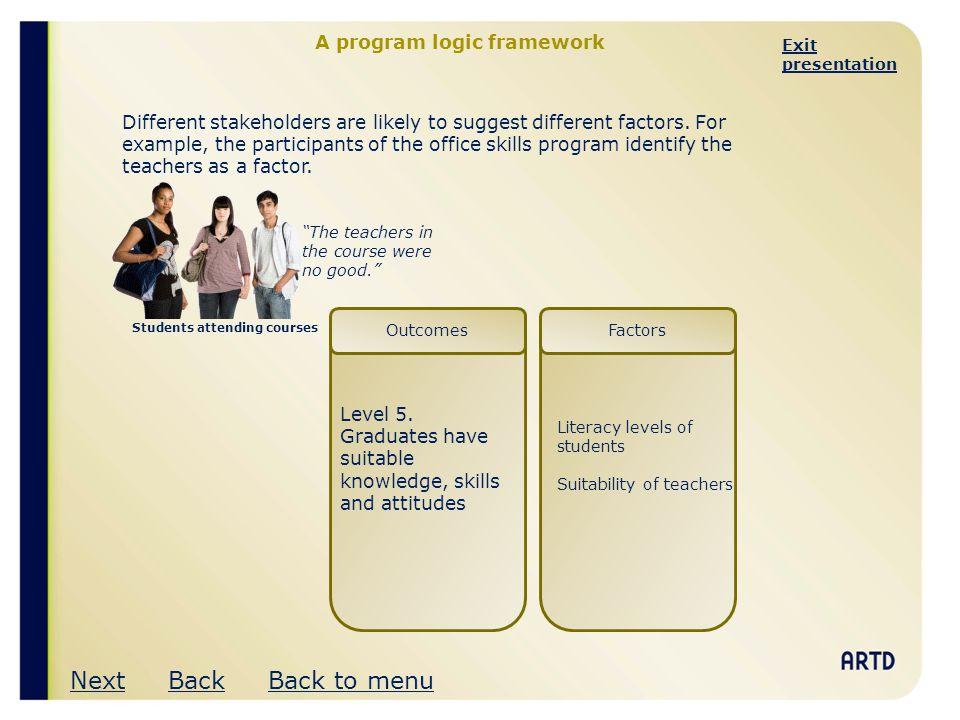 A program logic framework