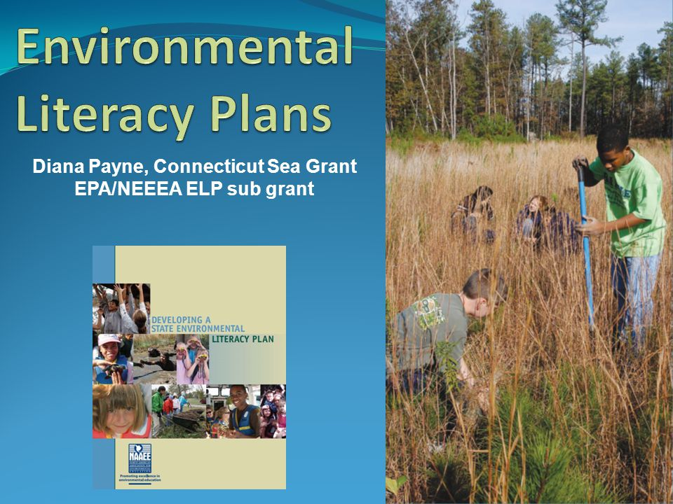 Environmental Literacy Plans