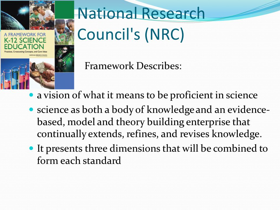 National Research Council s (NRC)