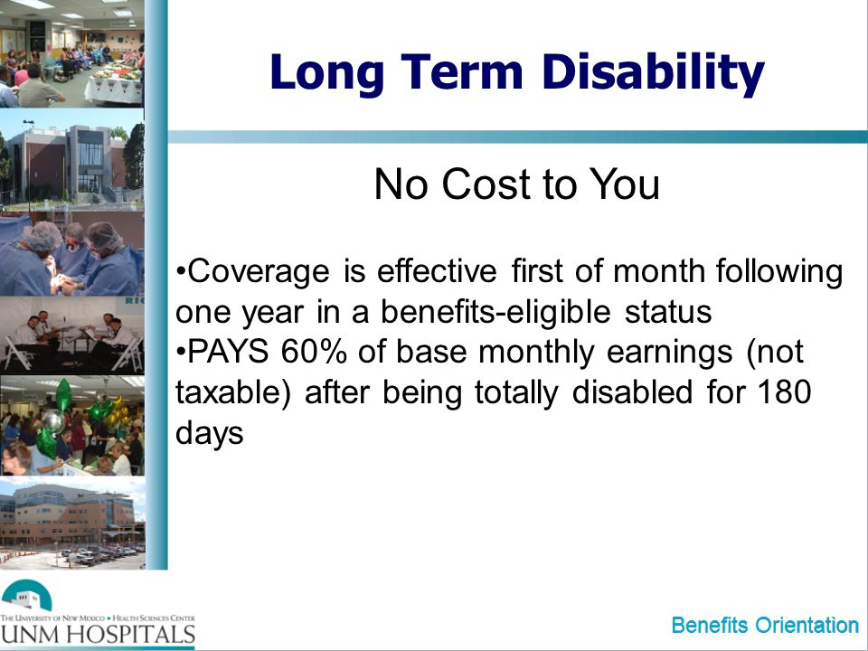 Long Term Disability No Cost to You