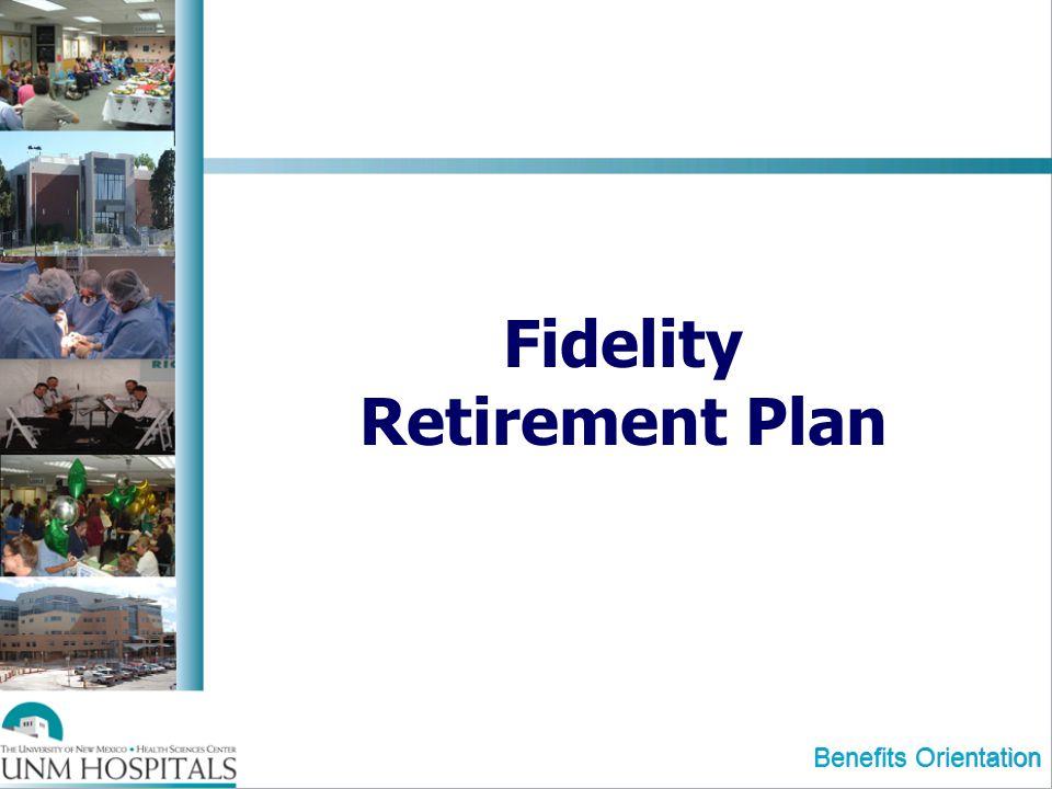 Fidelity Retirement Plan