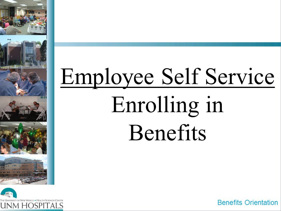 Employee Self Service Enrolling in