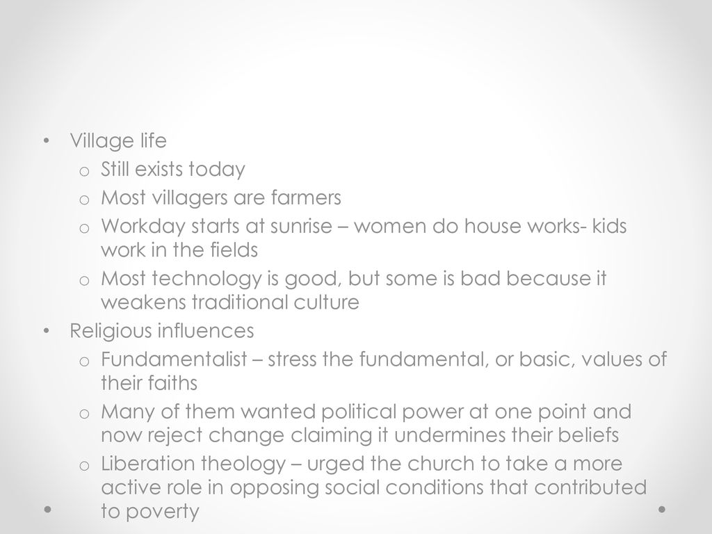 Changing Patterns of Life - ppt download