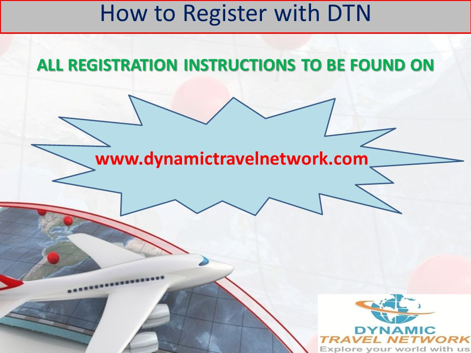 ALL REGISTRATION INSTRUCTIONS TO BE FOUND ON