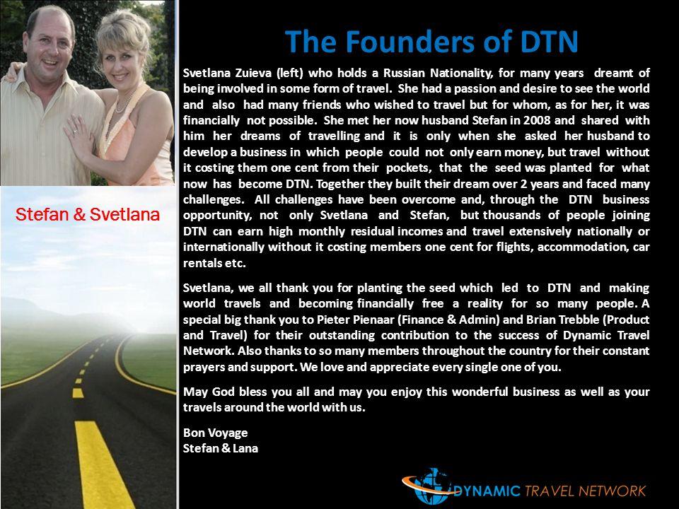 The Founders of DTN Stefan & Svetlana