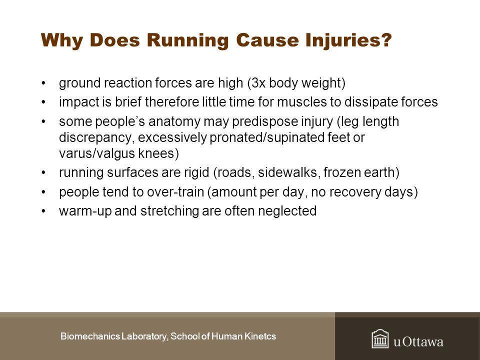Why Does Running Cause Injuries
