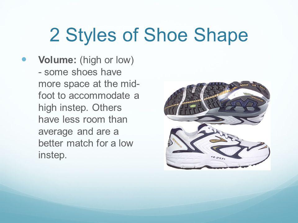 2 Styles of Shoe Shape