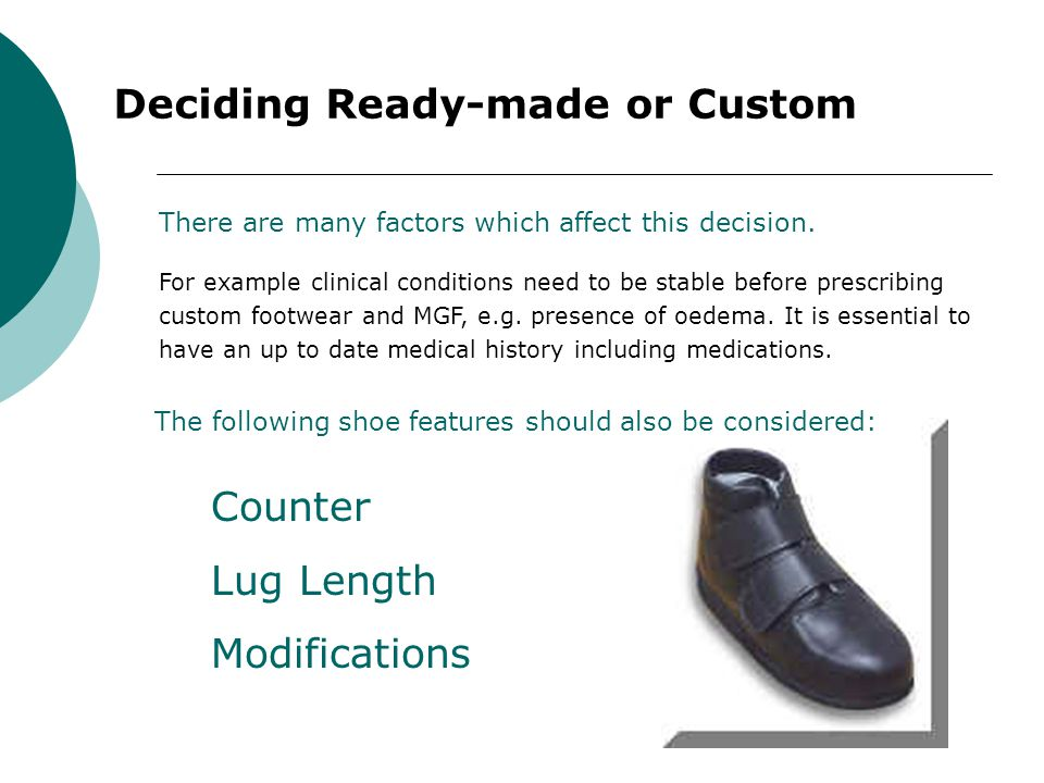 Deciding Ready-made or Custom