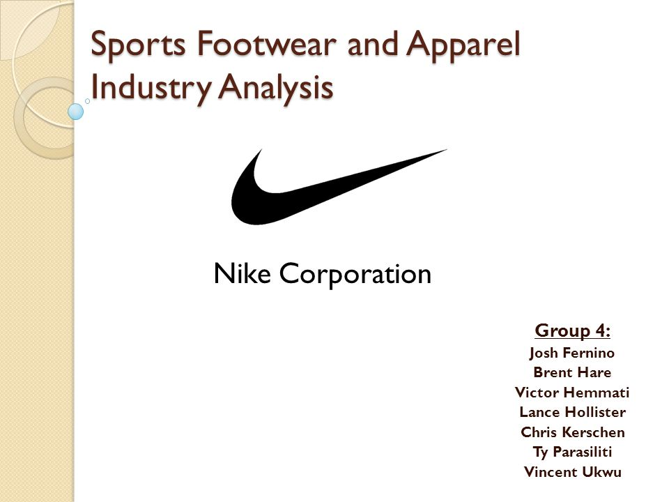 Sports Footwear and Apparel Industry Analysis
