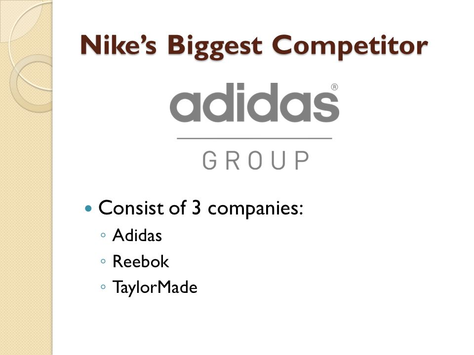 Nike's Biggest Competitor
