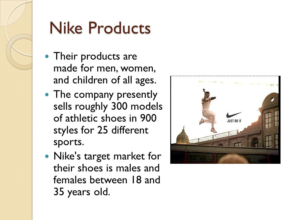 a business analysis of nike corporation an athletic shoe industry The shoe industry has failed to deal with shoes going to landfill nike's chief sustainability officer ethical business corporate social responsibility waste.