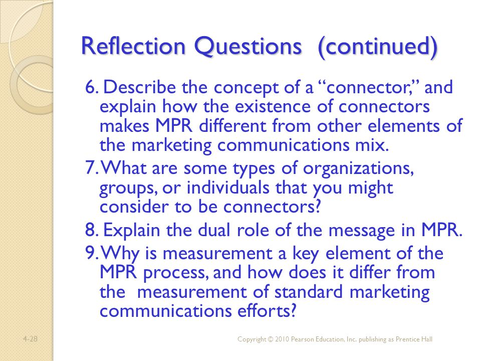 reflection questions education 6 The author 2016 international practice development journal 6 (1) [7]   reflective questions encourage deeper thinking and analysis, and can.