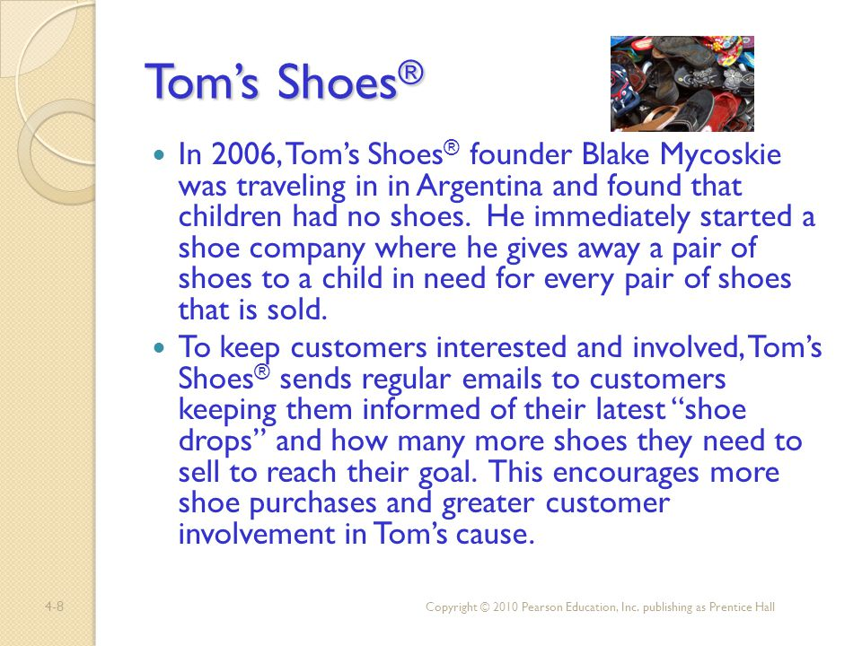 Tom's Shoes®