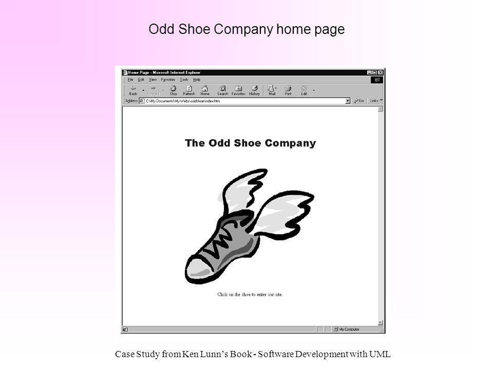 Odd Shoe Company home page