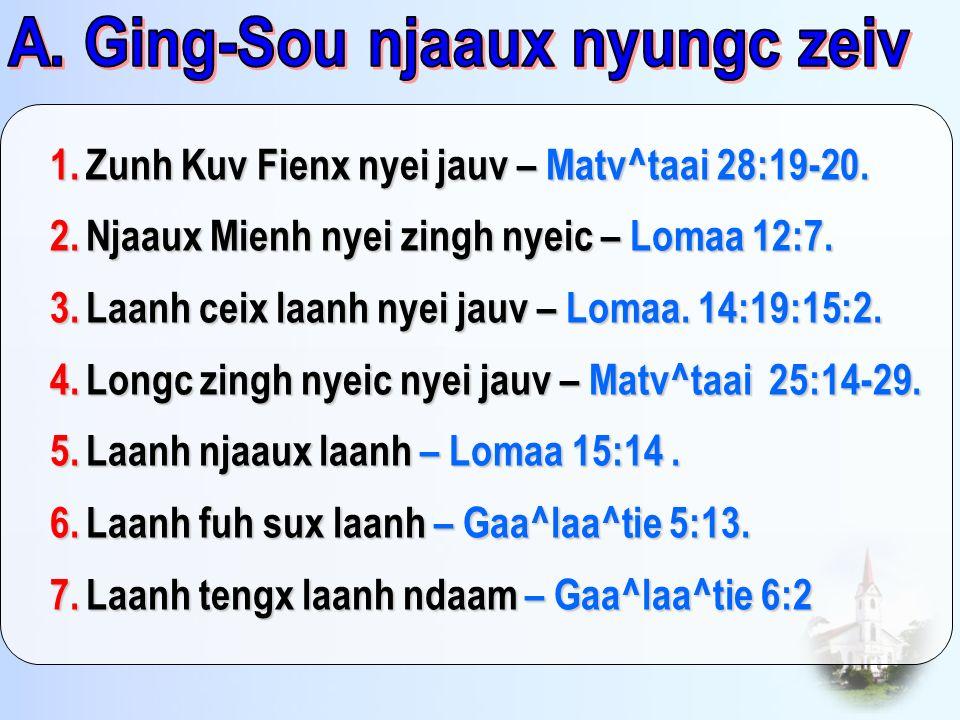 A. Ging-Sou njaaux nyungc zeiv