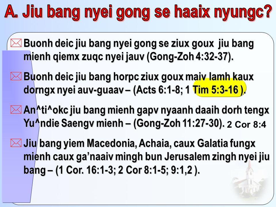 A. Jiu bang nyei gong se haaix nyungc