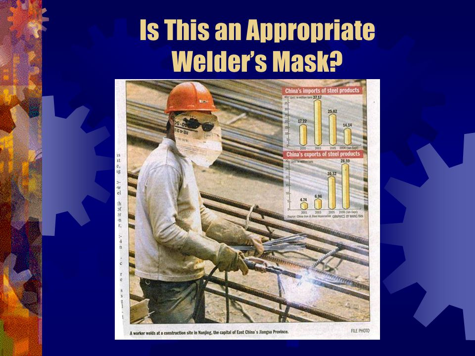 Is This an Appropriate Welder's Mask