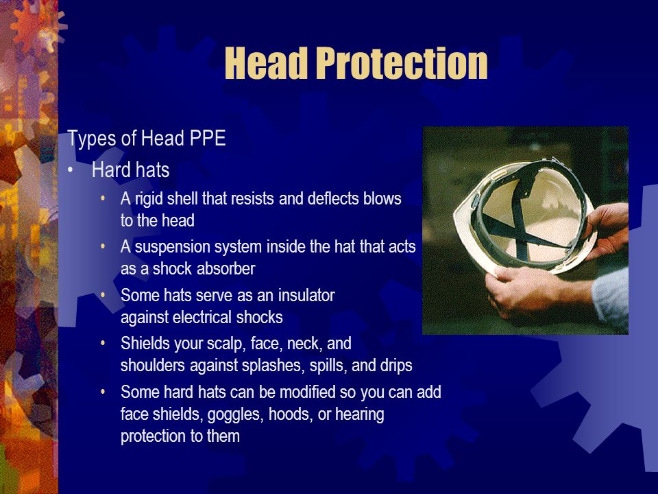 Head Protection Types of Head PPE Hard hats