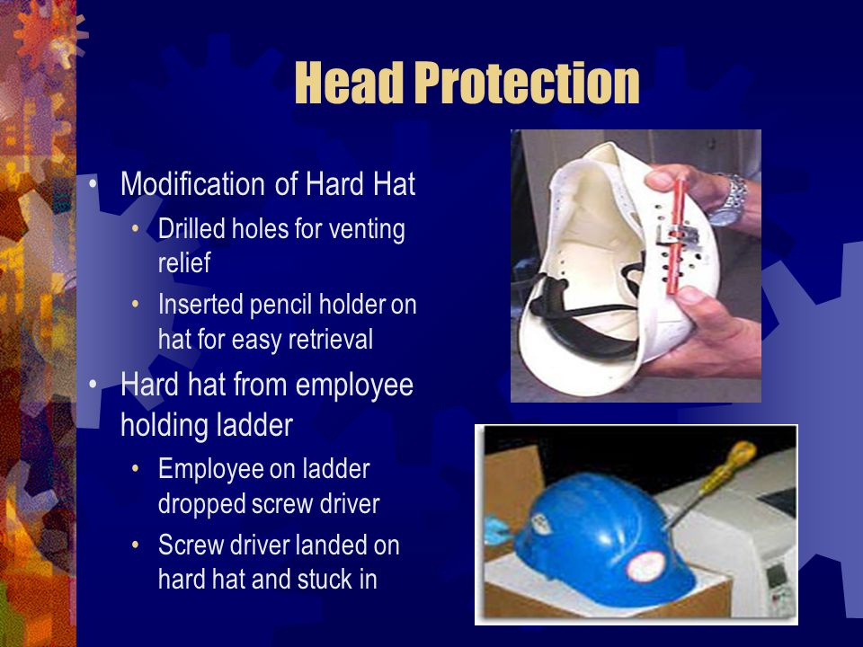 Head Protection Modification of Hard Hat