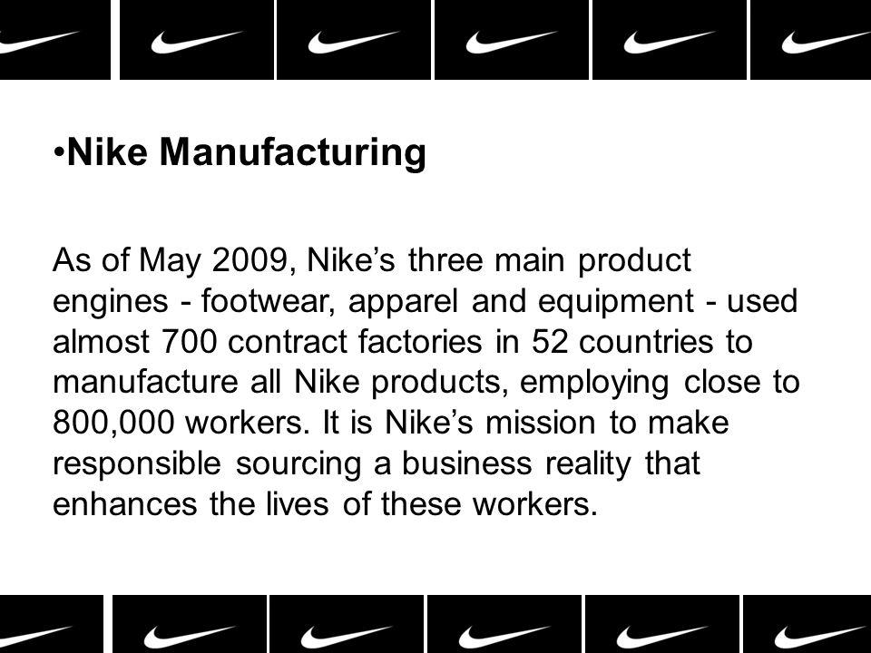 Nike Manufacturing