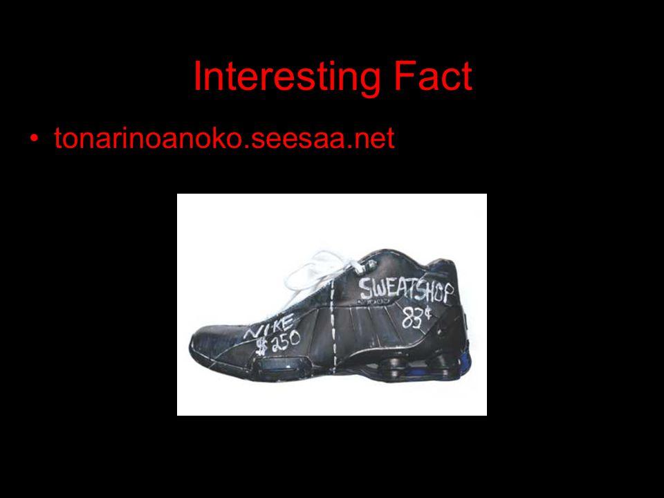 Interesting Fact tonarinoanoko.seesaa.net
