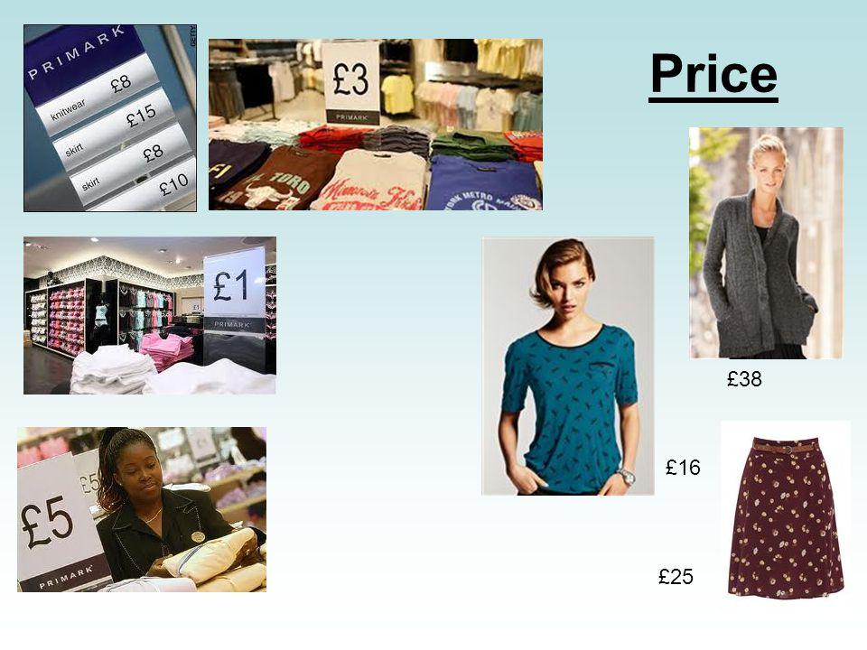 Price £38 £16 £25