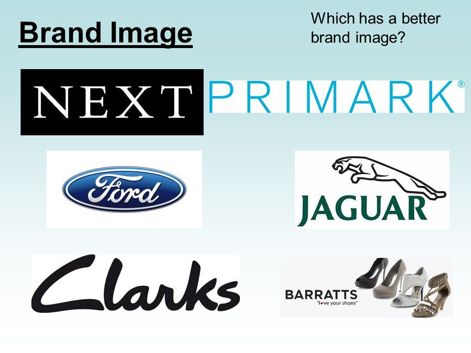Which has a better brand image Brand Image
