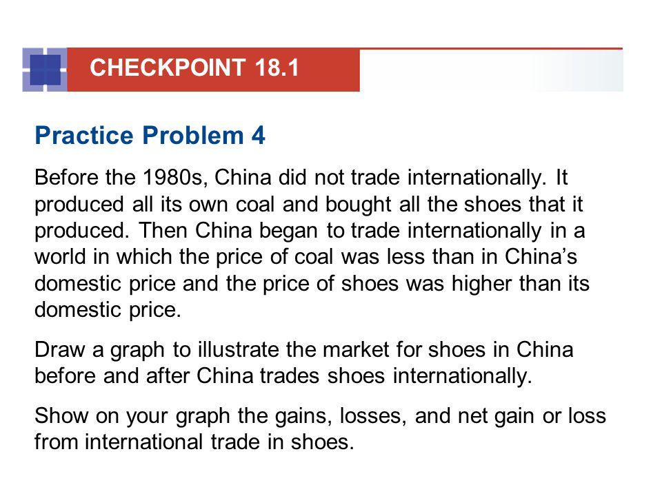Practice Problem 4 CHECKPOINT 18.1